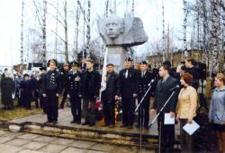 Памятник Преминину в Красавино