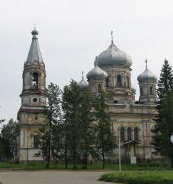 Сретенская церковь в Вытегре